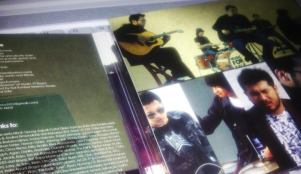 Menarik Memori, Meresapi Music for Sale