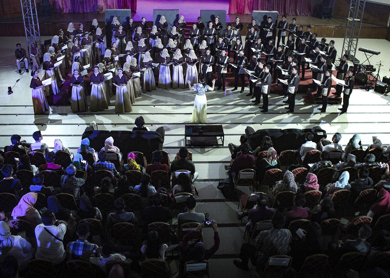 Agria Swara, Konser Internal Setelah Juara di Irlandia