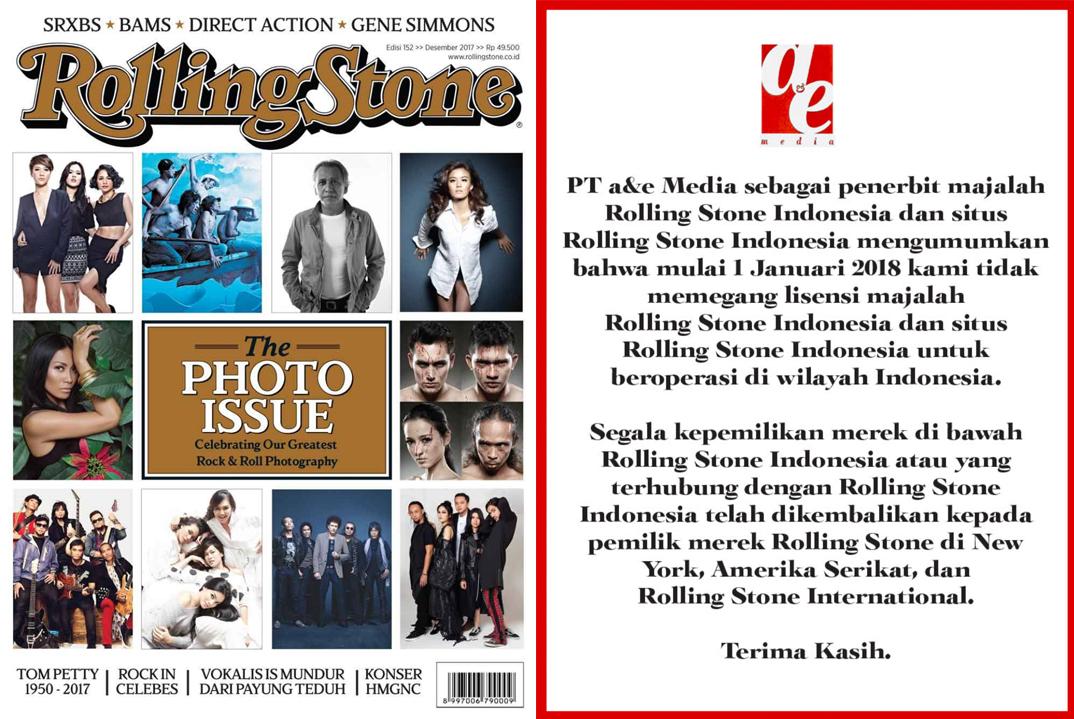 Dear Rolling Stone Indonesia, Apa yang Kamu Lakukan Itu Jahat..