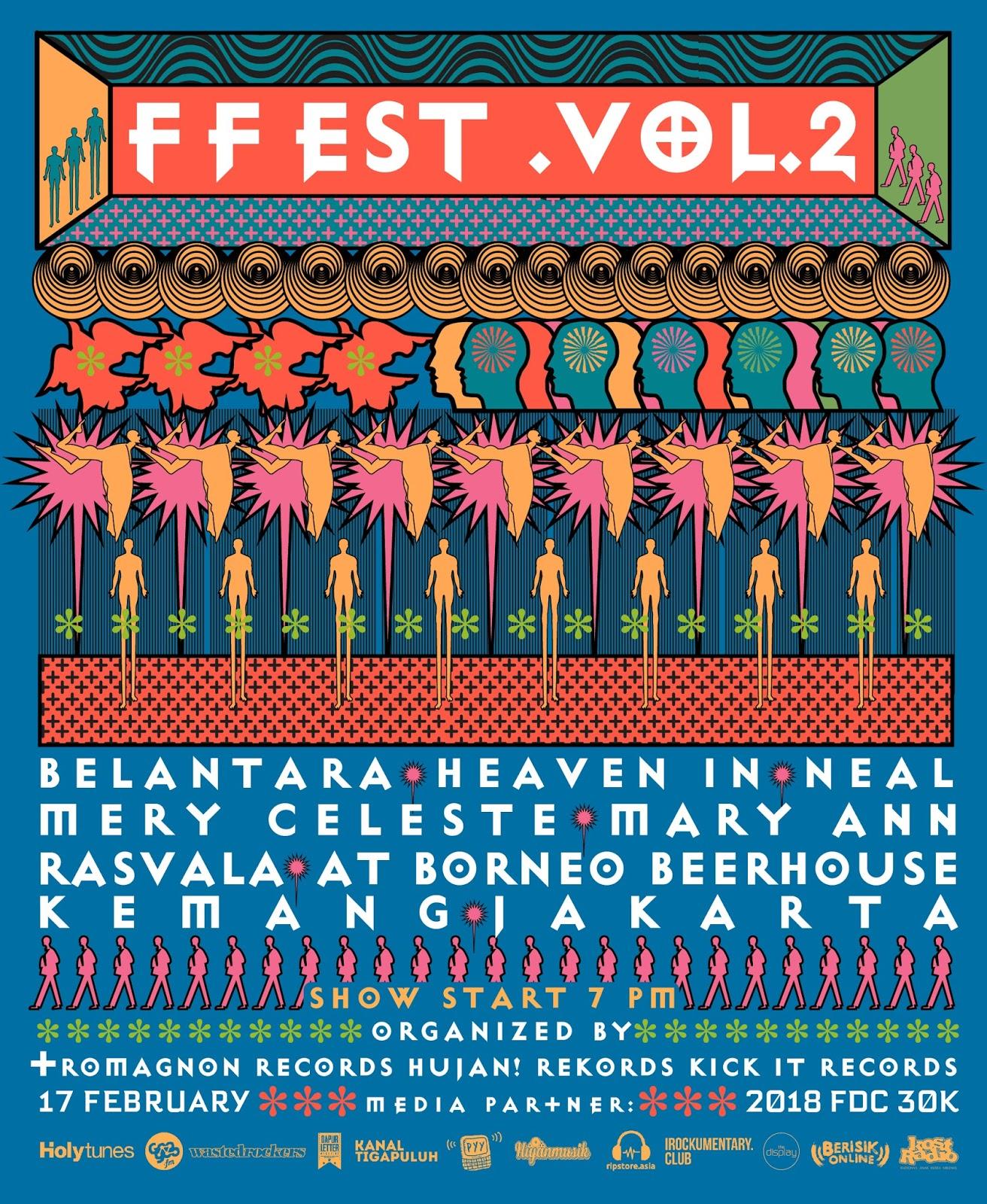 Ffest Vol.2 : Satu Kota dalam Panggung Luar Kota