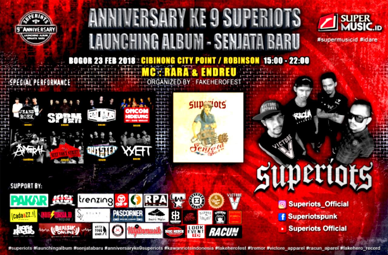 Superiots Rayakan 9 Tahun Berkarya untuk Album ke-6