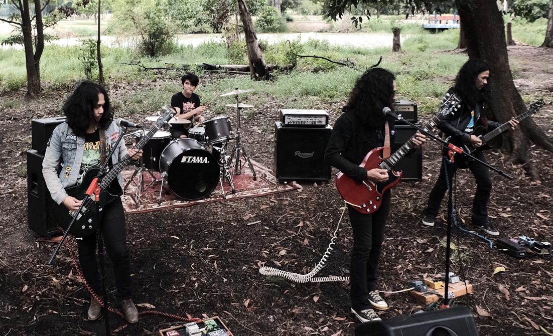 The Yervs Rilis Album Debut Heavy Rock dari Pelataran Sumatera Selatan