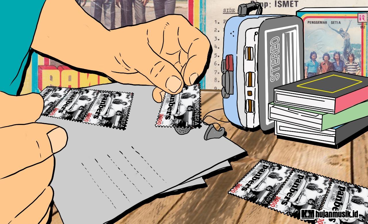 Proyektor Kisah Panbers Dalam Sehelai Perangko
